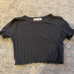 Urban Outfitters Ripped Crop Top